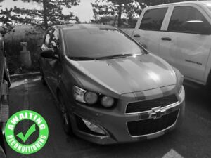 2016 Chevrolet Sonic RS Turbo| Sun| Heat Leath/Suede Seat| Rem S