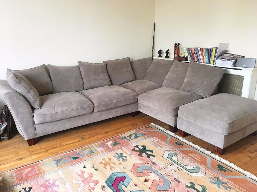 Now Sold Stylish Tangier Fabric Corner Sofa For Sale In Clifton Bristol Gumtree
