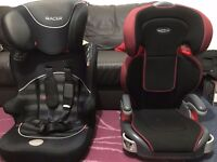 kids car seats 2 nos