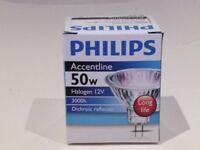 Philips Accentline / Osram 42870 / Sylvania Coolfit MR 16 / JCC GU10 Halogen lights New