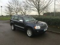 JEEP GRAND CHEROKEE 3.0 CRD V6 Overland 4x4 5dr Auto (blue) 2006