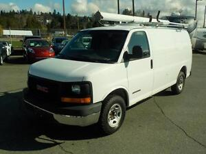 2006 GMC Savana G2500 Cargo Van with Ladder Rack