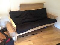 3 seat sofa bed - LESS THAN 12 MONTHS OLD Havana 3 Seater Futon