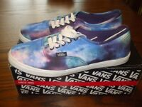 VANS SHOES COSMIC GALAXY NEW BOXED 5.5 USA LTD EDITION