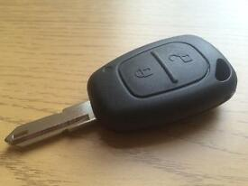 Renault Nissan Vauxhall Trafic Vivaro Movano Remote Key Supplied And Programmed 1.9dci