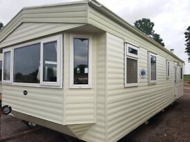 Preloved ABI Brisbane 2 bed static caravan on Grange Leisure Park, Coastfields inc 50/50 Ground Rent