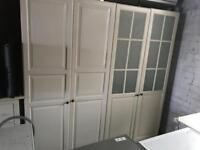 Pair of IKEA wardrobes can deliver
