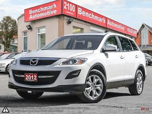 2012 Mazda CX-9 AWD-LEATHER-ROOF-1 OWNER-CLEAN CARPROOF-ONLY 56K