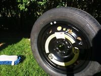 Vw spare wheel as new 5x100 fitment