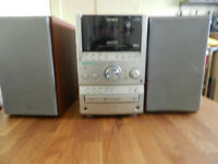 SONY S-Master HiFi micro stereo system