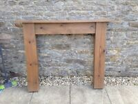 Wood Fire Surround