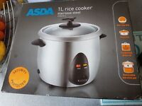 Asda rice cooker 1 litre. Good working order