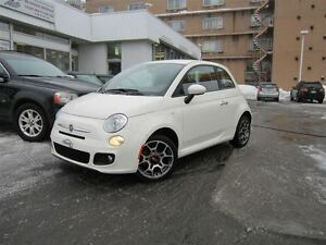 2012 Fiat 500 Sport ** 59 000 KM IMPECCABLE **