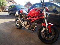 Ducati Monster 696, 2750 miles and lots of paperwork