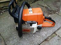 Stihl 025 petrol chainsaw