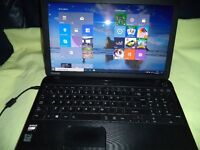 TOSHIBA SATELLITE C50D LAPTOP AMD 750 GB HDD 8GB RAM WIN10 READY TO USE CHARGER & LAPTOP BAG