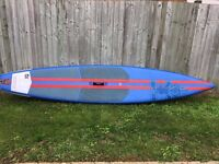"Starboard "" 12' 6"" Racer"" inflatable stand-up paddle board, ex-demo in very good condition"