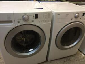 86-Laveuse Sécheuse Frontales  LG Frontload Washer Dryer