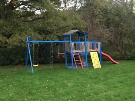 Climbing play area