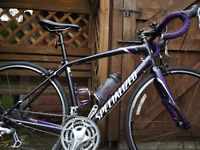 Ladies racing road bike SPECIALIZED DOLCE, 54cm