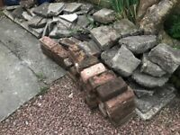 Free Mixed Rubble & Red Bricks - for collection only. Removal required asap!