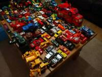 Big bundle of toy cars (over 150)