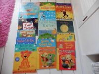 Selection of kids paperback books