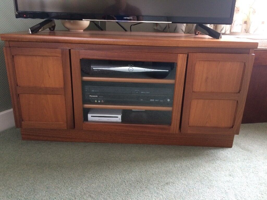Nathan teak living room furniture corner tv unit coffee - Storage units living room furniture ...