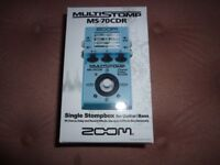 Zoom multistomp pedal