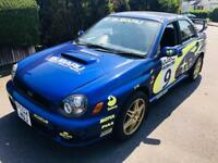 SUBARU IMPREZA WRX TURBO BUGEYE 280 BHP 4 DR SALOON BIG SPEC SUPERB BARGAIN
