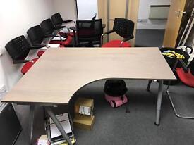 Galant IKEA desk x2