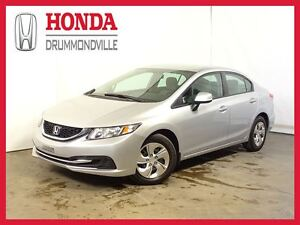 2013 Honda Civic LX +  REG. VITESSE +  BLUETOOTH