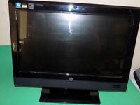 HP TOUCHSMART 310 20 INCH ALL-IN-ONE DESKTOP PC. WINDOWS 7. WIRELESS.