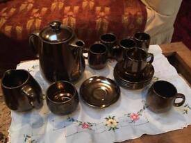Prinknash coffee set