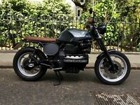 BMW K100 Cafe Racer/ Brat Custom Motorcycle (BMW K100 LT)
