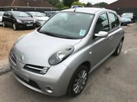 2005/55 NISSAN MICRA 1.2 SPORT+5 DOOR,SILVER,GREAT SPEC,STUNNING LOOKS,DRIVES REALLY WELL
