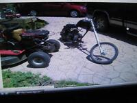 CUSTOM  BUiLT CHOPPER AD # 7752857