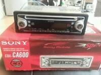 Sony in car cd radio