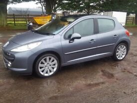 Peugeot 207 GThdi in excellant condition