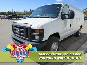 2012 Ford E-250 Commercial 138 inch wheelbase, lined cargo van
