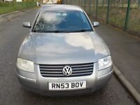 2003 Volkswagen Passat, 1.9 TDI 6 Speed Sports, Full Service History, HPI Clear, Heated Seats