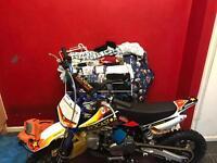 Brand new 125 pit bike