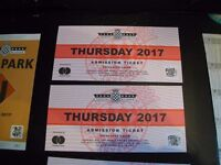 2 x Tickets for Goodwood Festive of Speed 2017