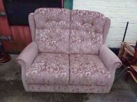 2 seat Fabric Sofa Delivery Available £10