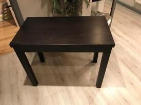 Extandable Table Brown-black