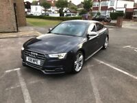 AUDI S5 SPORTBACK BIG SPEC. FRONT FACELIFT CAT D. small damage on the back