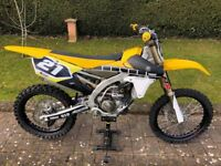 Yamaha YZ250f YZ 250f 250 YZF 60th Anniversary 2016 With Extras