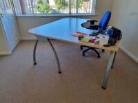 Larger Corner Office/Gaming Desk + Chair