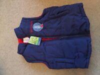 Brand new with tags Igglepiggle; In the Night Garden body warmer, size 3-4 years.
