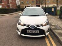 Toyota Yaris hybrid 2012 white automatic 32kmiles mot